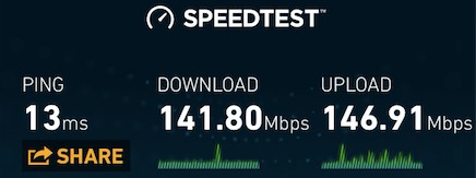 """Speedtest"